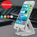 Silicone Desktop Mobile Phone Stand Holder Tablet PC Stand Holder for Mobile Phone (All Size) and Tablet (Up to 10.1 inch)