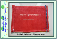 cheap wholesale PP woven mesh bags for potatos/onions china packing bags factory