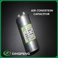 exhaust fan capacitor CBB65 50/60hz capacitor mfd