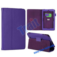 Folio Lichee Stand Leather Case for ASUS Memo Pad ME172V