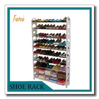 Plastic display stand for shoes