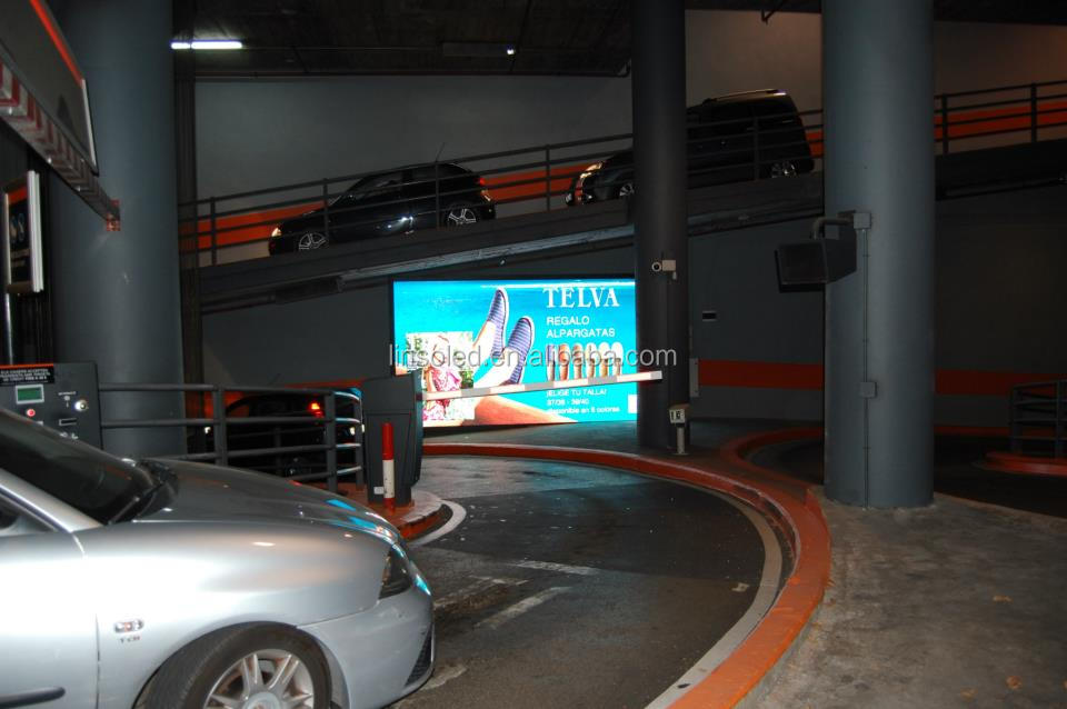 China wholesale led parking display signs, led display double sided