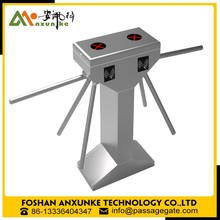 Pedestrian Supermarket Half Height Security Swing Turnstile Gate