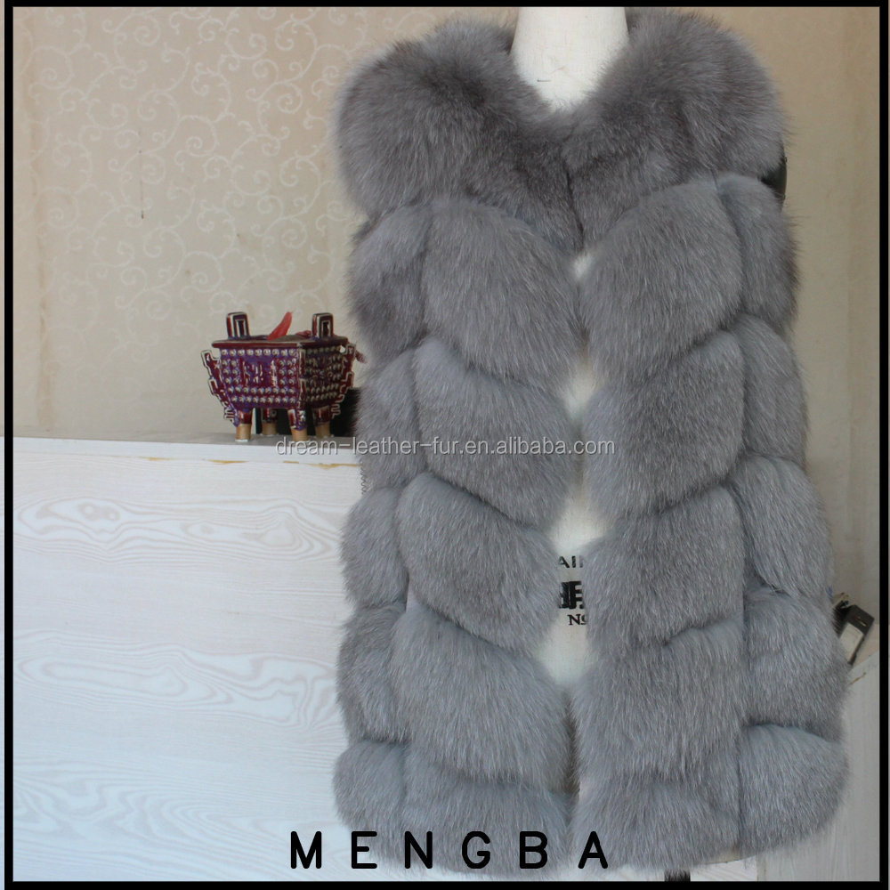 wholesale warm fox fur vest