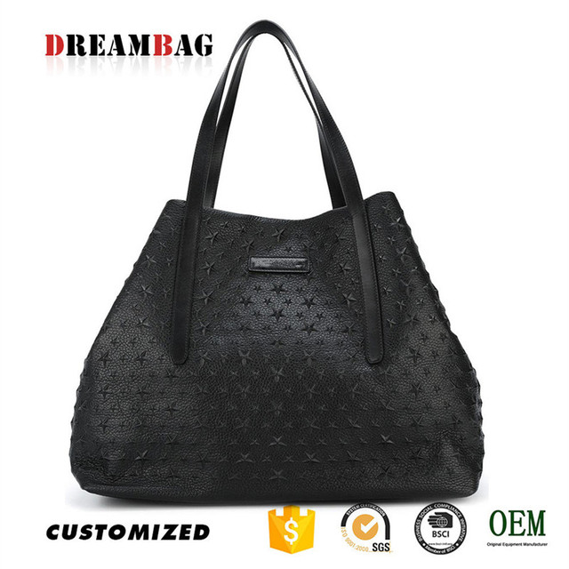 GZ best quality OEM goat skin lady handbags 2016