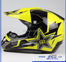 SCL-2016040190 Motorcycle Helmet Off Road RockStar Dirt Bike Casco Motocross Motocicleta Helmet Personalized Motorcycle Helmets