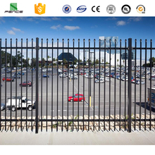 Black color house gate designs and Wrought iron fence