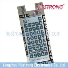 Old men use cheap price universal remote control Jumbo remote control