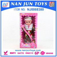 16 inch silicone baby doll for girl