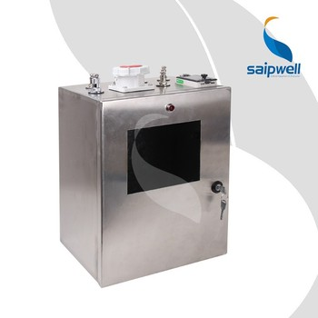 SAIP/SAIPWELL New Electrical Stainless Steel Mobile Power Socket Box