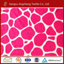 dubai wholesale market 100% polyester coral fabric curtain fabric, polyester microfiber fabric for blankets, bathrobes