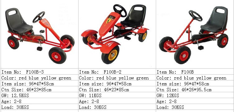 2 seat cheap go karts for sale/two person pedal car for adults
