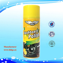 Dashboard Polish Spray, Dashboard Polish Wax, Aerosol Car Spray Wax