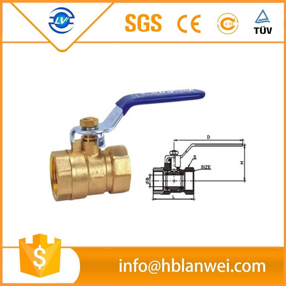 alibaba hot sale hand valve with BSP 1 inch butterfly valve 3 inch brass ball valve