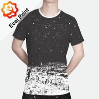HOT SELL sublimation custom design digital printing tshirt