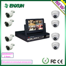 2014 New Products 7Inch DVR CCTV Camera Kit System Easy For Installation
