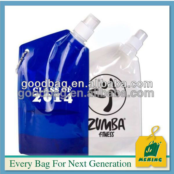 factory cheap price spouted pouch water plastic bag for juice