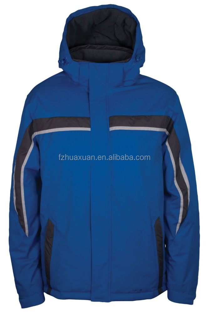 casual windproof outdoor jacket hoody ski jacket with windproof cuff