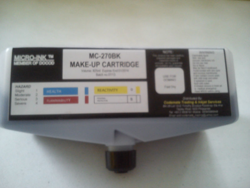 Ink for Domino Make-up Cartridge
