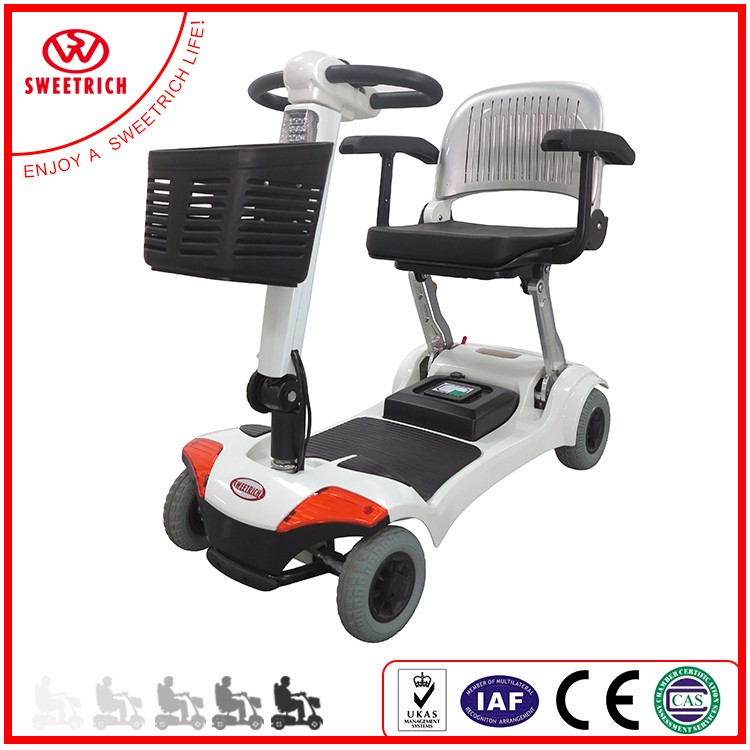 Lightweight Folding Compact Mobility Scooter For Elderly And Adults