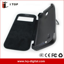 New Model 3200mAh Extended Battery Case For Samsung Galaxy S4 i9500 With Auto Stand-by and Sleep Function