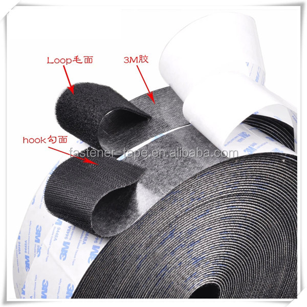 3M quality adhesive hook loop strap