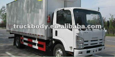 Refrigerator vehicle/CKD