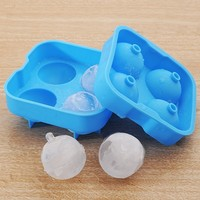 Hot Selling 4 Ball Shaped Silicone