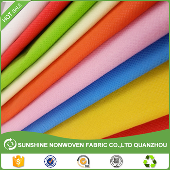80gsm 40x30cm 100% PP virgin / recycle non-woven material shopping bag biodegradable nonwoven fabric bags