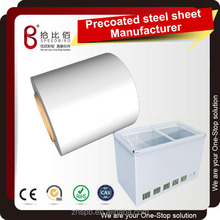 High Quality precoated steel coil plate sheet cold rolled processed into chest freezer cabinet panel parts