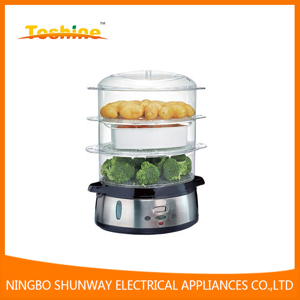 800W stainless steel food steamer with digital FS4401DS