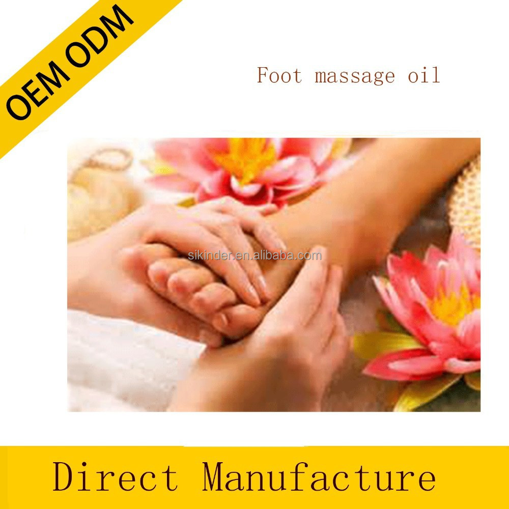OEM/ODM Pure Foot massage oi Spa aroma massage oil body care massage oil