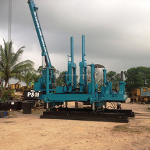 ZYB80N4-B Precast Hydraulic Static pile driver machine in Hunan