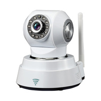 New ip camera indoor smart mini PTZ camera support pan/tilt, p2p, H.264/MJPEG