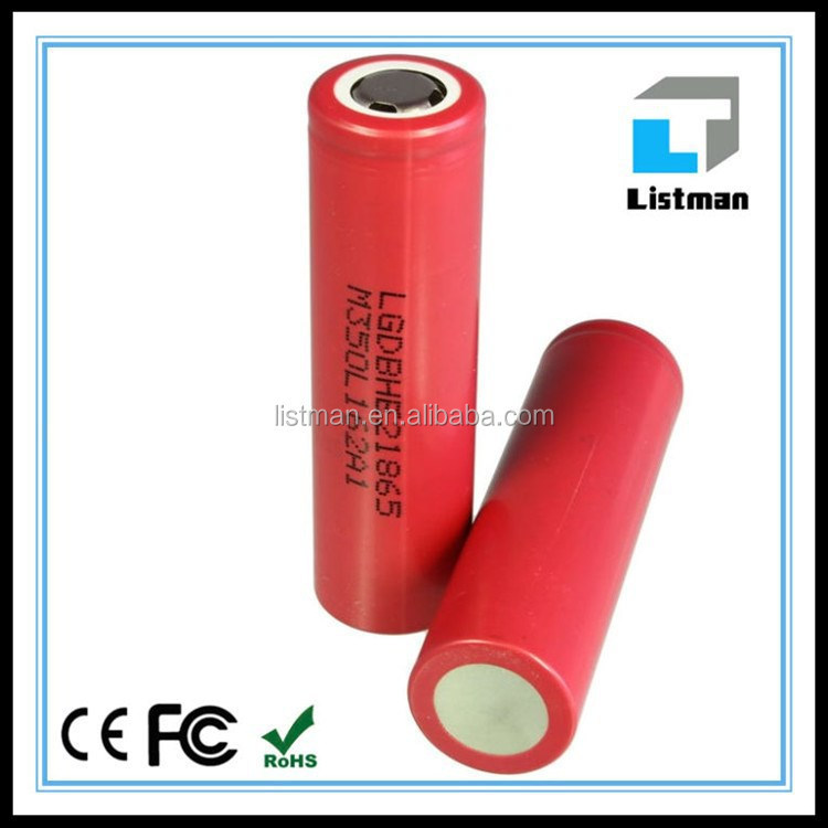 wholesale lg chem lg 18650he2 2500mah battery 2500MAH 35A li-ion battery 186503.7v