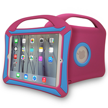 Rose red and blue 7.9 inch tablet carry case for ipad,matching color kids tablet accessories for ipad mini 1/2/3/4
