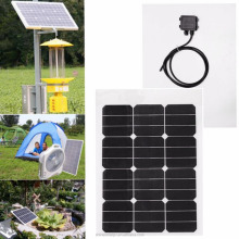 Sunpower mini solar panel 40 watt flexible wholesale