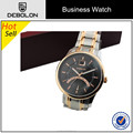 create your own brand stainless steel water resistant watch for men