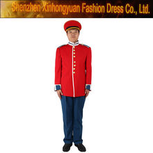 custom red band military uniform for sale