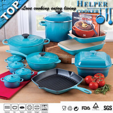 Blue color painting die casting kitchen accessories best selling