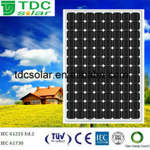 High efficiency 240w Monocrystalline Solar Panel PV module with TUV, IEC, CE, CEC certified