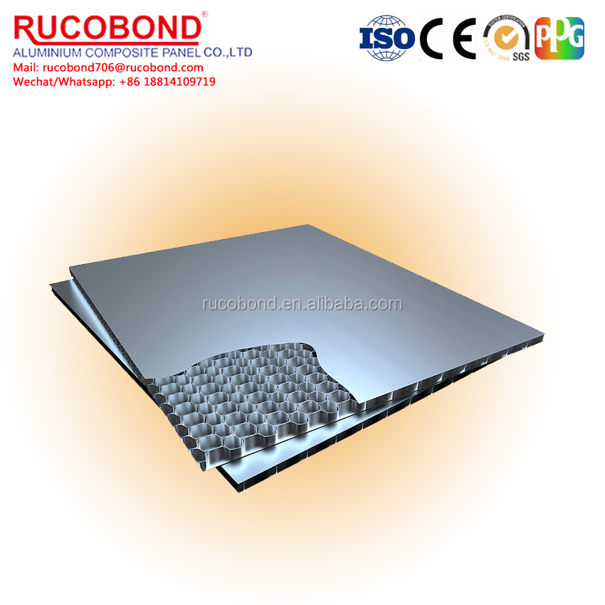 Super quality hotsell aluminum honeycomb core panel/board for exterior