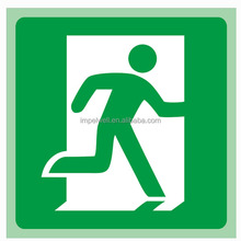 Self-luminous Fire Safety Sign for Fire Fight Equipment or Exit