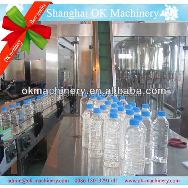 KW-27 plastic mineral water bottle manufacturing machine