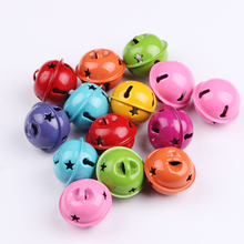 Newest 23mm Pets Pumpkin Bell With Colorful Paint