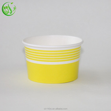 12oz all kinds ice cream/yoghurt paper cup lid cover plastic