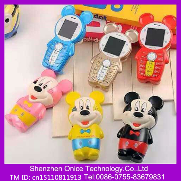 K9 cute cartoon phone for kids cartoon mobile phone gsm 1.44 inch mobile phone toy with camera