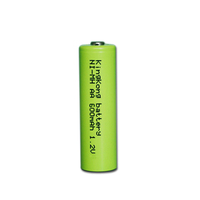 Ni-MH AA 600mAh battery for electric toys 1.2v ni-mh battery Outperforms