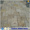 Factory direct sales travertine floor tiles for wholesale