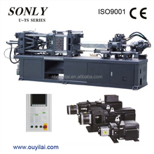 Ningbo plastic Injection Molding Machine U400TS small plastic moulding servo motor machine box making machine